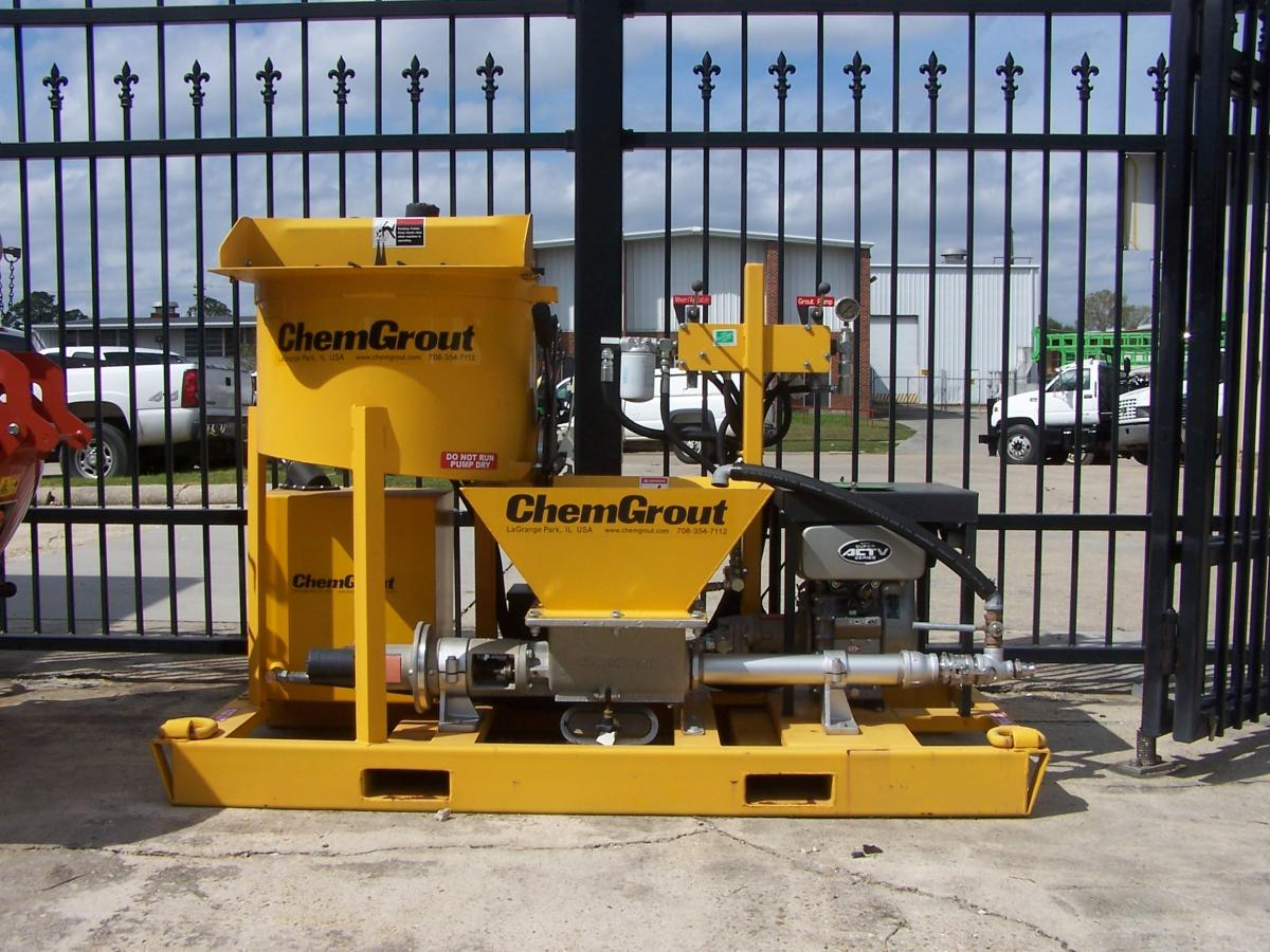 ChemGrout Mixer & Pump