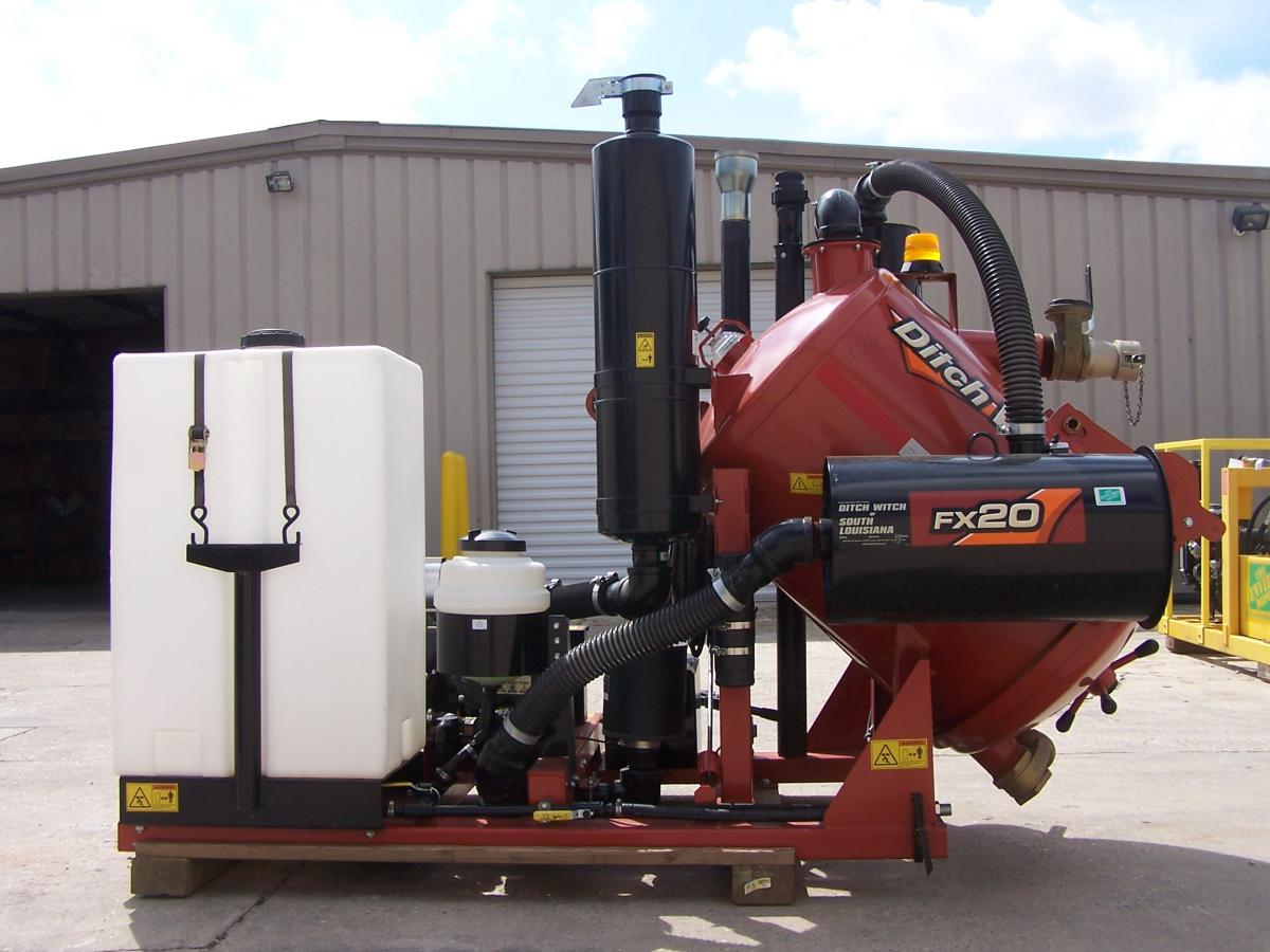 DitchWitch 20 Potholer